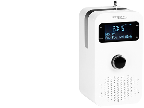 FOX 200 DAB+ Radio White, 1