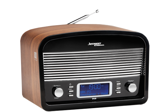 DAB Radio DAB:Link 500 Black-Wood