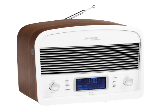 DAB radio DAB:Link  500 White-Wood