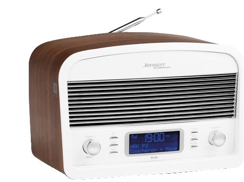 DAB Radio DAB:Link 500 White-Wood