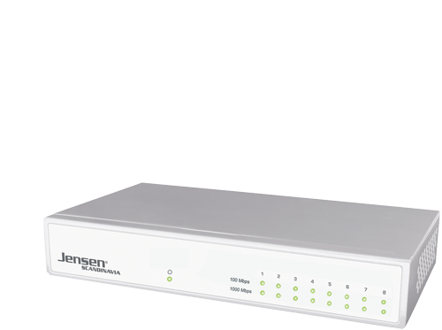 Net:Link 1008 gigabit ethernet switch, 1