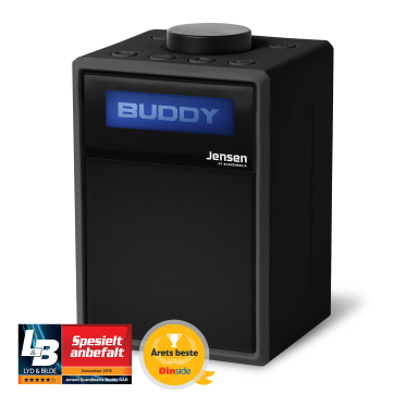 Buddy DAB Radio Black, 10