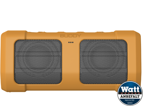 Bluetooth høyttaler Buddy Sport Yellow