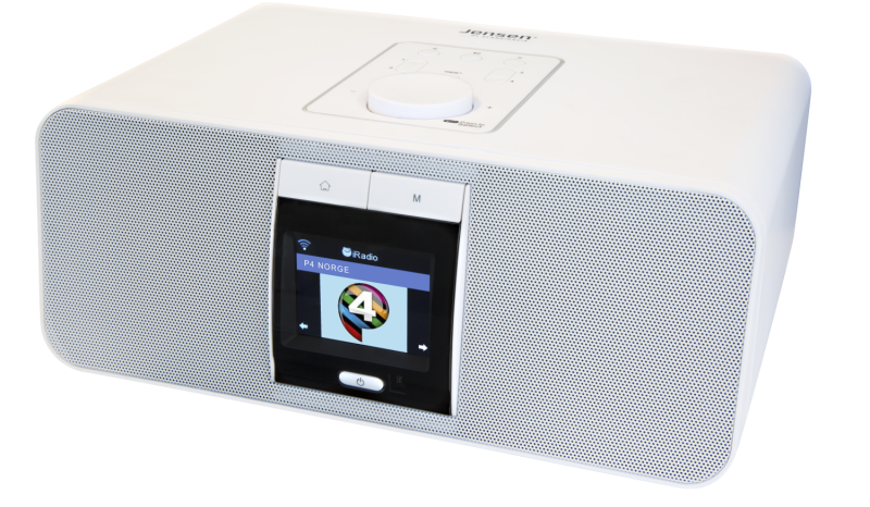 DAB Radio FOX 1000i White