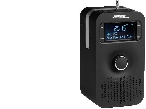 DAB radio FOX 200 Black