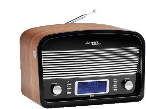 DAB Radio DAB:Link 500 Black-Wood