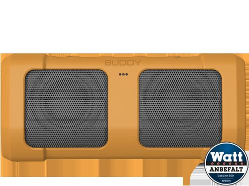 Bluetooth høyttaler Buddy Sport Yellow
